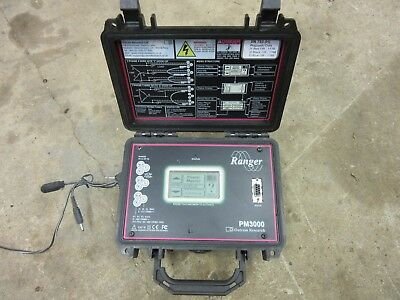 Ranger Power Master PM3000 Power Quality Data Logger 3 Phase