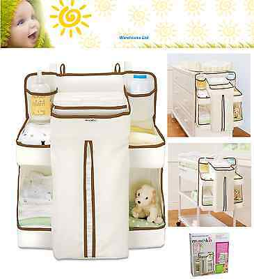 Nappy Change Organiser Munchkin Baby Nappy Bag, Easy Hanging, Holds 50 Nappies