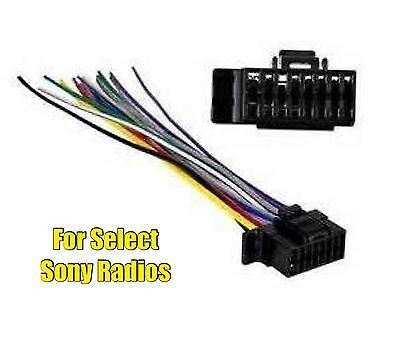 car stereo radio replacement wire harness plug for select jvc 16 metra sy2x8 0001 car stereo radio wire harness plug for some sony 16 pin radios