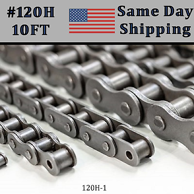 2PCS 120H Heavy Duty Roller Chain Connecting Link