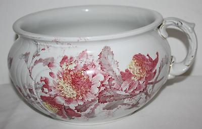 Antique Doulton Burslem Chamber Pot or Planter c1890 [PL1444]