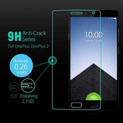 100% GENUINE Premium Real Tempered Glass for OnePlus 2 Two Screen Protector