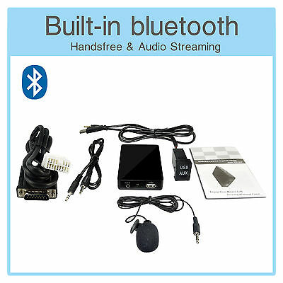 Bluetooth MP3 Adapter + USB AUX Extension Cable Honda CRV FRV CRZ Legend Odyssey