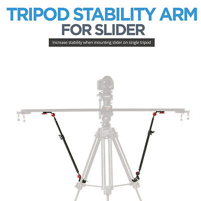 Konova Camera Slider Stability Arm For Universail Slider Compatible Tripod