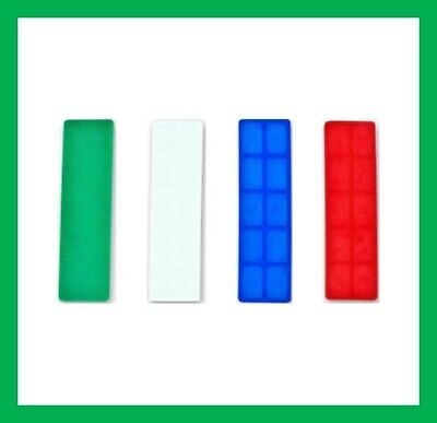 Glass Frame Plastic Packers Shims Spacers UPVC Windows Doors Kitchens 1mm to 6mm