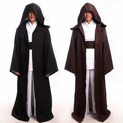 7055f748d2 New 1pc STAR WARS JEDI  SITH Hooded Cloak Halloween Cosplay Costume Robe  Cape