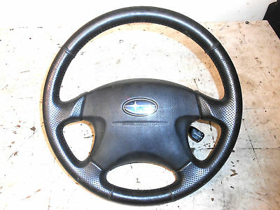 2003 - 2006 Subaru Forester Xt Steering Wheel With Cruise Control Stalk & Airbag