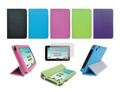 """Folio Skin Cover Case and Screen Protector for Skytex Skypad 7"""" SP728 Tablet"""