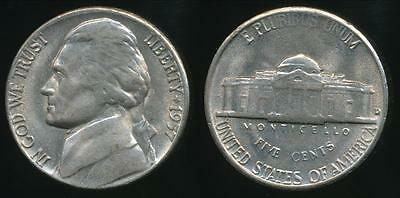 United States, 1957-D 5 Cents, Jefferson Nickel - Uncirculated