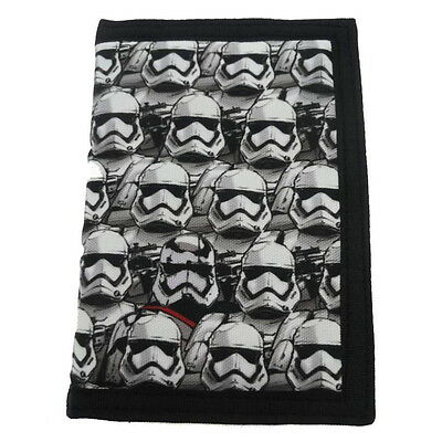 NEW OFFICIAL Star Wars The Force Awakens Boys Kids Coin Pocket Money Wallet