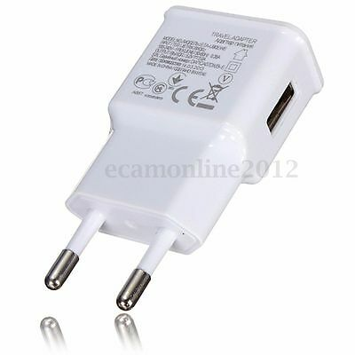 5V 2A USB EU Plug Wall Charger Fast Charging Home Travel Adapter Power Adaptor