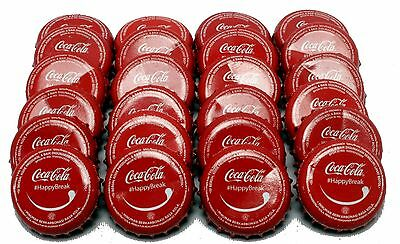 24 Coca Cola Bottle Caps (Used) from Jakarta