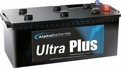 Deal Pair 2 x 12V Ultra Plus 220AH Leisure batteries Boat, Motorhome, Solar