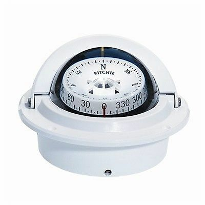 Ritchie Voyager Compass F-83W CombiDamp Dial Designer White MD