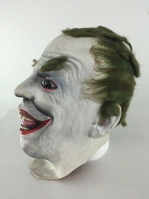 Batman The Joker Jack Nicholson Original 1989 Rubber Mask DC Comics Gotham Latex