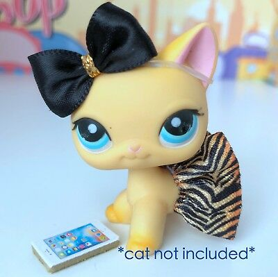 Littlest Pet Shop LPS Clothes Accessories Custom Outfit Lot *CAT NOT INCLUDED
