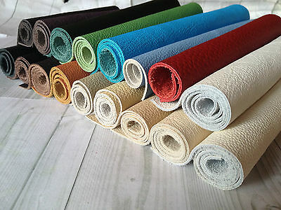 ½ or 1 SQUARE FEET (30X30CM) LEATHER PIECE VARIOUS COLOURS OFF CUTS SCRAP ENDS