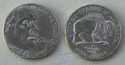 USA 5 Cents Nickel 2005 P unz.