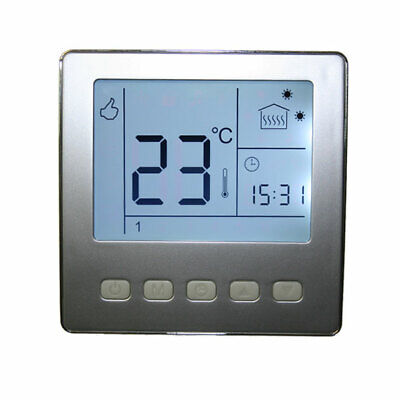 digital programmierbar thermostat unterputz heizung raumthermostat wochenprogram eur 19 99. Black Bedroom Furniture Sets. Home Design Ideas