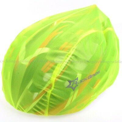 RockBros Bike Bicycle Helmet Rain Cover Dust Cover Windproof Green for MTB Road