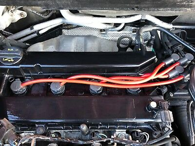 Red 8Mm Performance Ignition Leads To Fit Ford Fiesta St150 Mk6 Vi Quality Build