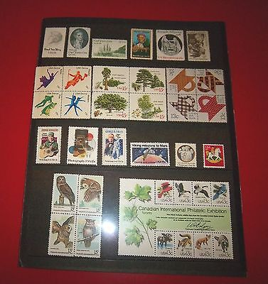 1978 USPS COMMEMORATIVE MNH YEAR SET OF 36 SC 1731-33, 1744-69, COMPLETE w/CAPEX