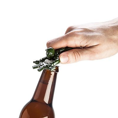 Army Man Soldier Replica Metal Bottle Opener Gift For Him Novelty