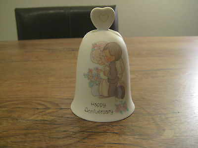 Precious Moments Happy Anniversary Wedding Bell