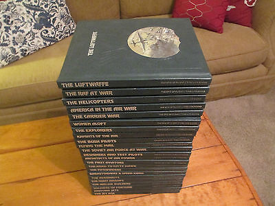 The Epic of Flight Time Life Books Lot (Complete Set of 23)