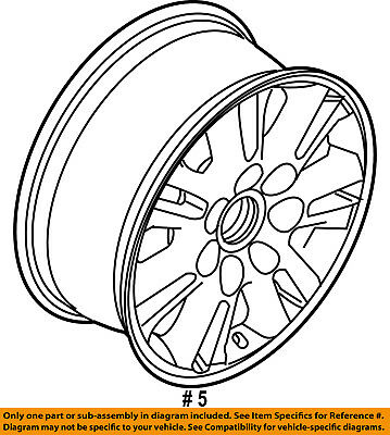 New Factory Genuine Oem Ford Harley Davidson F150 22 Inch Wheel 3830