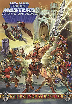 He-Man and the Masters of the Universe: The Complete Series (DVD, 2009,...4-DVDs