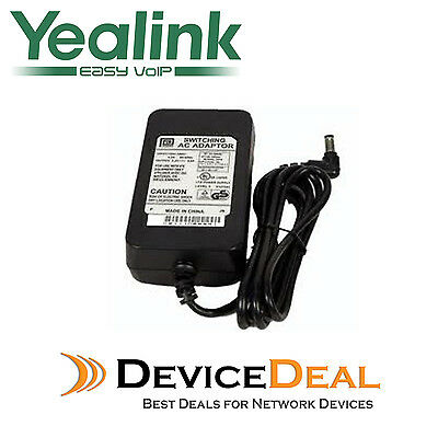 Yealink Power Adaptor SIPPWR5V1.2A-AU  for SIP-T22P, T26P, T28P, T41P and T42G