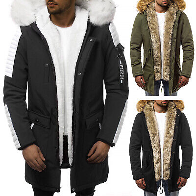 ozonee herren jacke neu steppjacke warme winterjacke parka mantel wintermantel eur 31 95. Black Bedroom Furniture Sets. Home Design Ideas