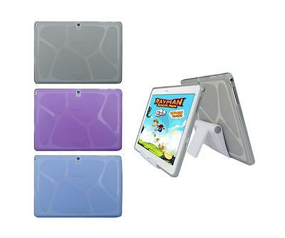 """View Stand Holder + TPU Skin Case Cover for Samsung Galaxy Note 10.1"""" SM-P600"""
