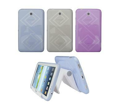 """View Stand Holder + TPU Skin Case Cover for Samsung Galaxy Tab 3 7"""" SM-T210R"""