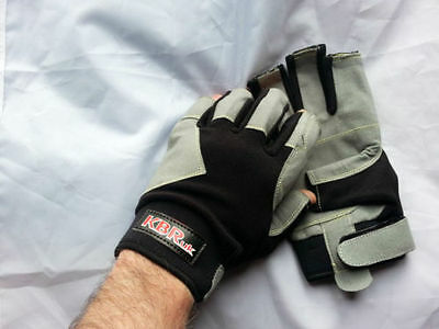 Kevlar stitched Sailing / cycling / Kayaking gloves, long and short finger