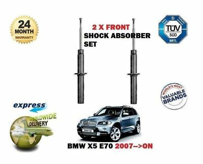 FOR BMW X5 E70 SDRIVE XDRIVE 2007-- ON  2x FRONT SHOCK ABSORBER SHOCKER SET