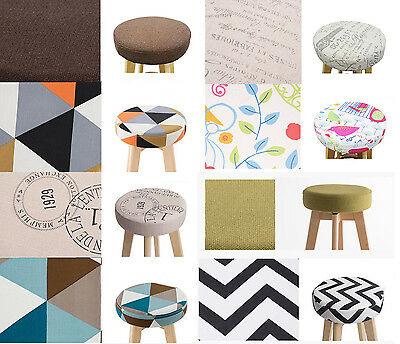 Plywood Swivel Bar stool Fabric Covers