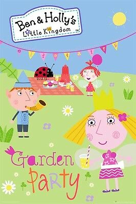 Ben and Holly's Little Kingdom - Garden Party POSTER 61x91cm NEW