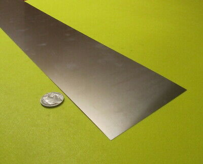 "301 Stainless Steel Sheet Shim, .004"" (+/-.0003"")  x 4.0"" x 25 Foot Length"