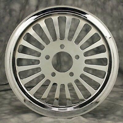 "Fat Spoke 70 Tooth Chrome Pulley 1.5"" Wide Harley Flht Electra Glide Flhtc Ultra"