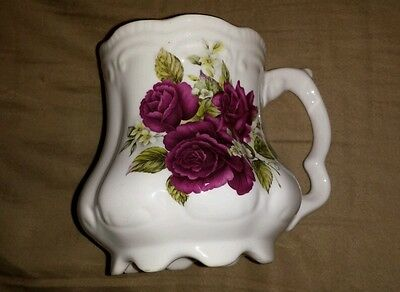 Golden Crown Fine Bone China Made in England Small Beautiful Rose Pitcher
