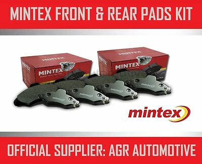 Mintex Front And Rear Brake Pads For Honda Civic 2.0 Type-R (Ep3) 2001-07