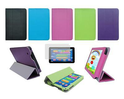 """Folio Skin Cover Case and Screen Protector for Nobis 7"""" NB07 Tablet"""