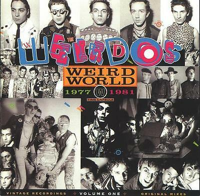 WEIRDOS Weird World Volume 1 1977-1981 US coloured vinyl LP SEALED/NEW The