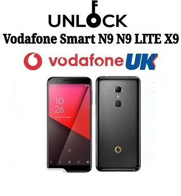 Vodafone UK Unlock code Smart N9 VFD 620 720 V620 V720 Unlocking