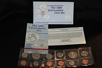 1998  United States Mint Uncirculated Coin Set