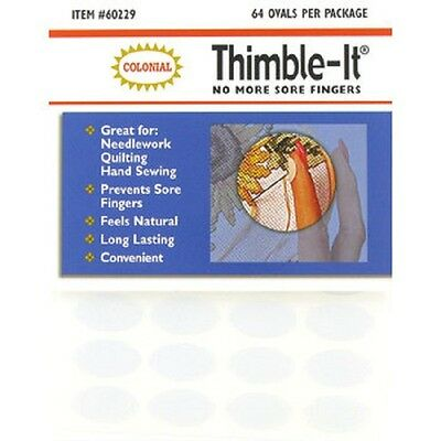 Thimble-It Protection No More  Sore Fingers For Applique Hand Stitching