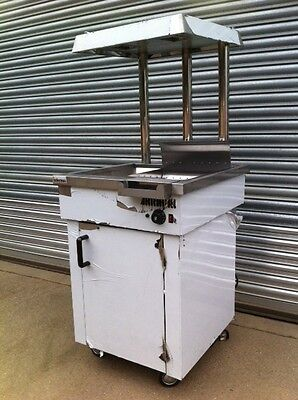 New Infernus Electric Chip Scuttle Free-standing Chip Dump