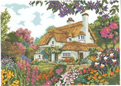 Diamond Painting-Diamant Stickerei/Malerei Diamant Bild Ferienhaus 55 x 40 cm